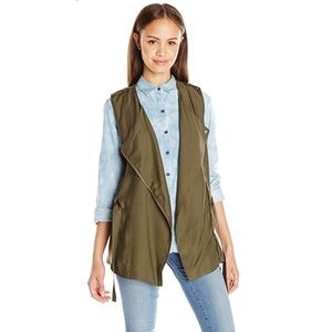 My Michelle Green Military Vest